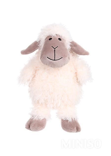 צעצוע קטיפה כבשה (לבן)
