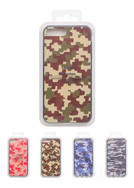 כיסוי לטלפון סלולרי צבע הסוואה עבור iPhone 7 Plus