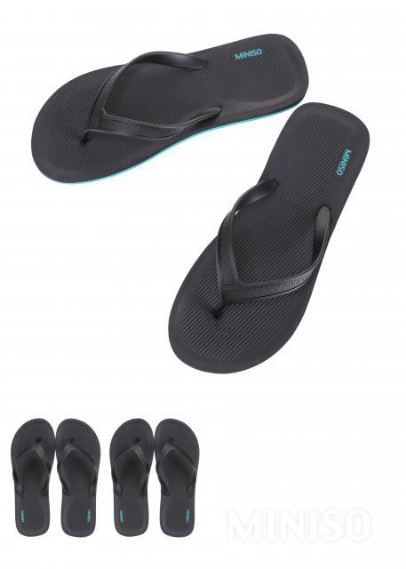 כפכפי אצבע בעיצוב ספורטיבי לגברים(שחור XL46/47)