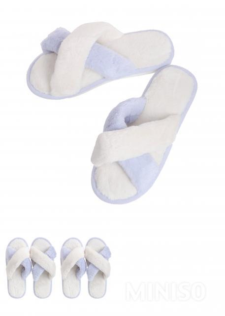 נעלי בית נשים דגם כפכף פתוח(כחול 37-38)