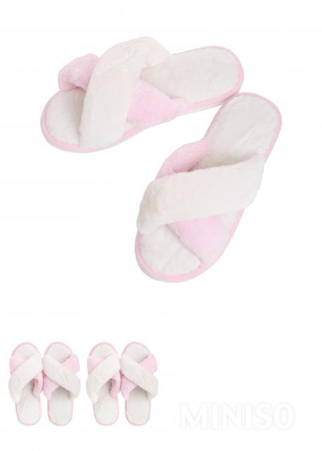 נעלי בית נשים דגם כפכף פתוח(ורוד 41-42)