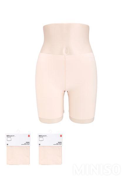 טייץ מחטב ללא תפרים לנשים(צבע גוף)(L/XL)