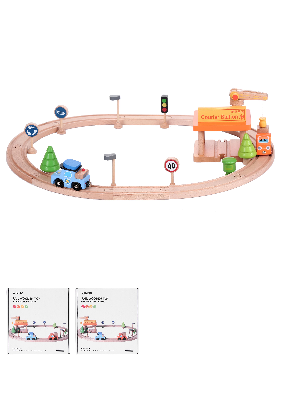 צעצוע מסילת רכבת עץ TG2032